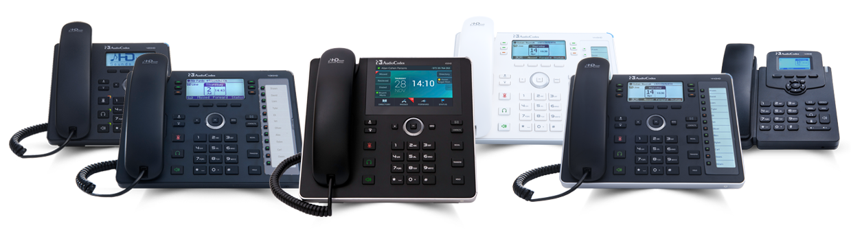 Request a trial AudioCodes IP Handset